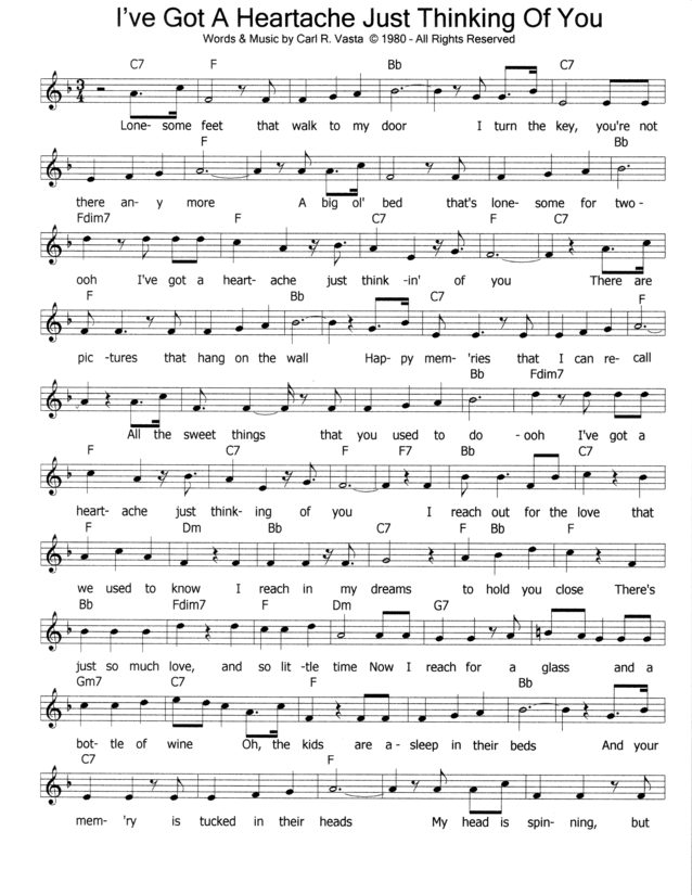 good morning heartache sheet music pdf
