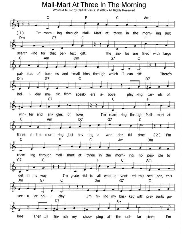 Lead Sheet-Page 1