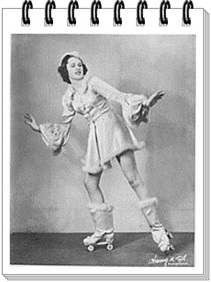 Our Mom (Betty Hathaway) Dancing On Skates